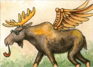 444_pipe_smoking_moose